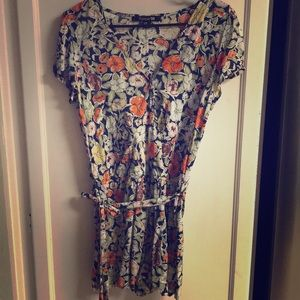 Tops - Forever 21 Floral Pattern Blouse Dress M